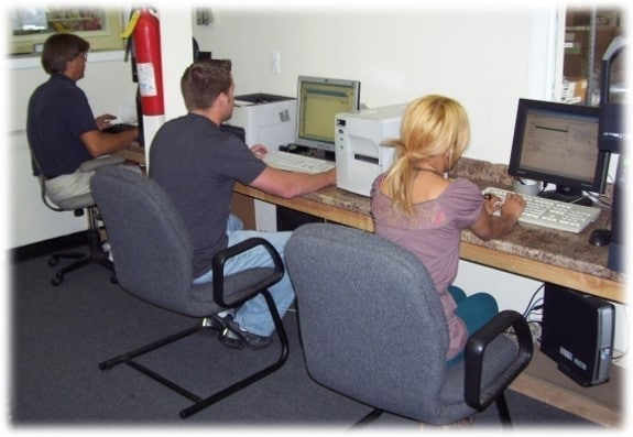 Computer and laser services at Always Express