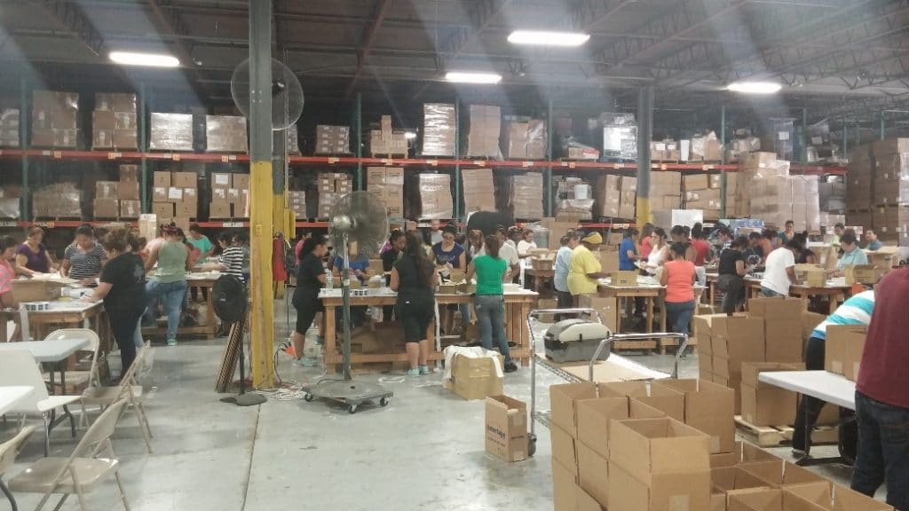 Fulfillment project at Always Express
