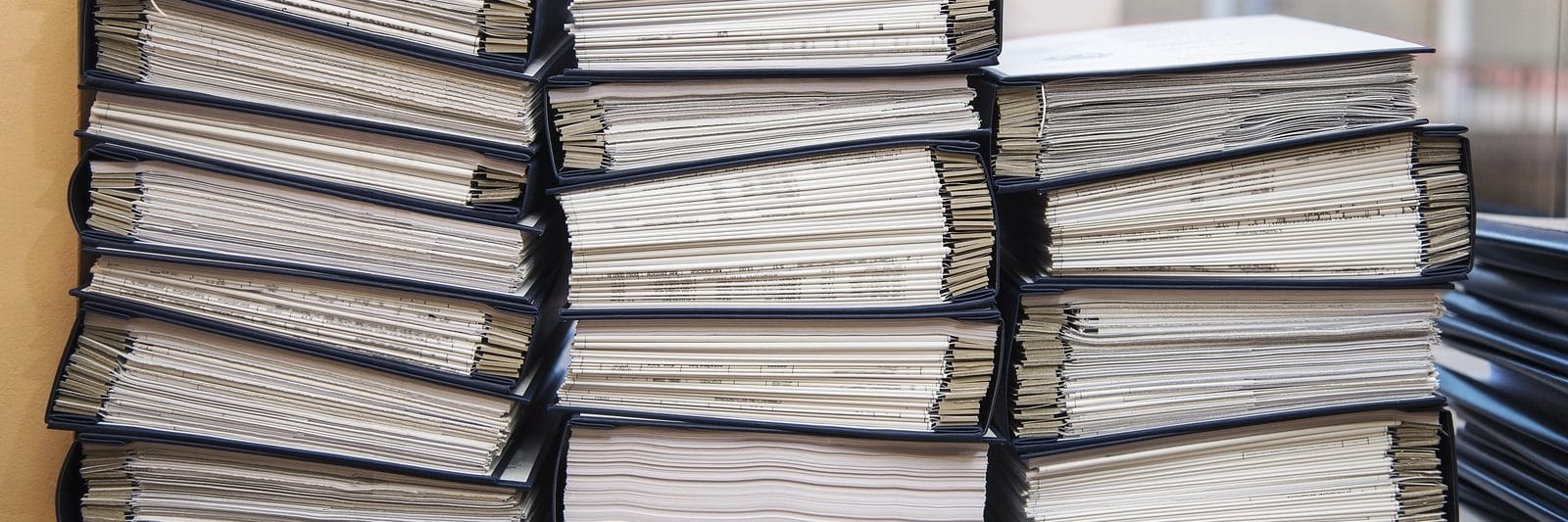Stacks of Legal Documents